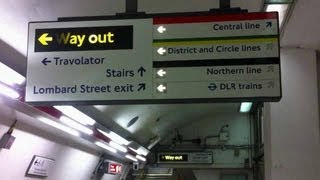 Lies on the London Underground