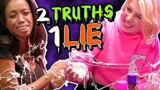SILLY STRING PUNISHMENT - 2 Truths 1 Lie