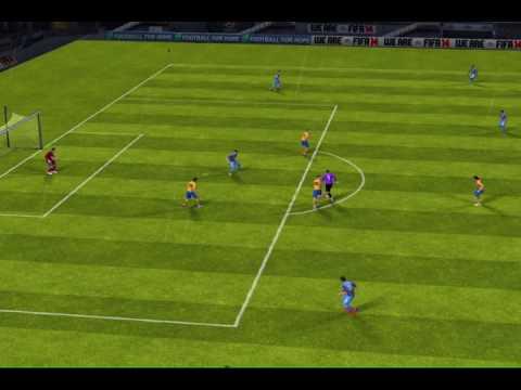 FIFA 14 Scoring on Buffon FAIL using Goalkeeper cause of FOUL!!!