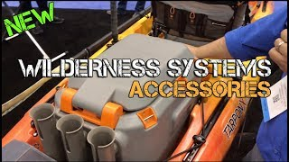 NEW: Wilderness Systems Kayak Crate, Livewell, & Accessories (iCAST 2017 Report)