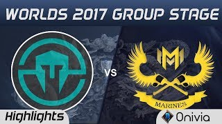 IMT vs GAM Highlights World Championship 2017 Group Stage Immortals vs Gigabyte Marines by Onivia