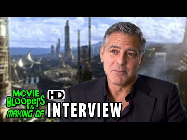 Tomorrowland (2015) Behind the Scenes Movie Interview - George Clooney (Frank Walker)