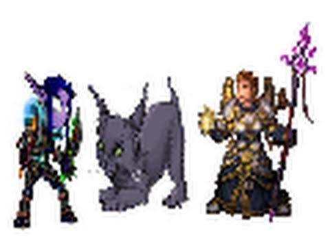 World of Warcraft PvP/PvE - 3v3 Feral/Sub/Disc vs Sub/Frost/Disc