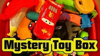 Pixar Cars Lightning McQueen Shampoo bottle in the Mystery Box of Toys 🚗🚗