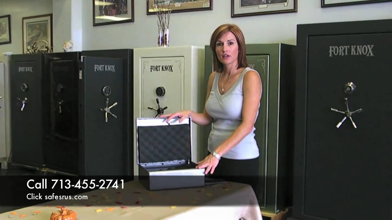 Fort Knox Pistol Box Handgun Safe Safesrus Com Youtube