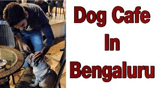 The Only Dog Cafe in Bengaluru | TherPup | Food Vlog | Dog Cafe