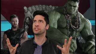 Thor: Ragnarok - Comic Con Trailer Review