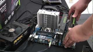 3-Way SLI on GeForce GTX680 Graphics Cards by ASUS