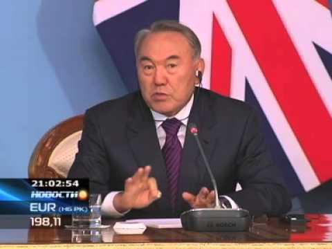 Назарбаев: У нас не ездят на верблюдах