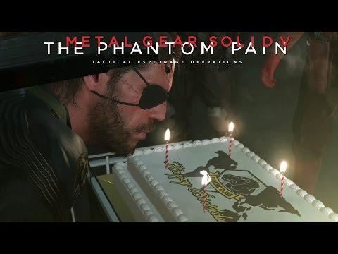 Metal Gear Solid 5: The Phantom Pain - Big Boss Birthday Surprise @ 1080p (60fps) HD ✔ thumbnail