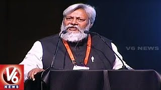 Dr Rajendra Singh Speech At Telangana Jagruthi International Youth Leadership Conference 2019