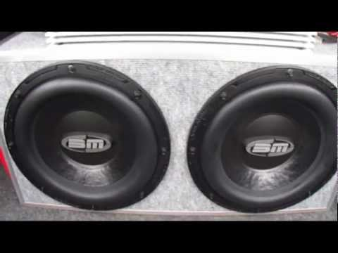 SUBWOOFER FLEX! - MAGNAT RX MONO 700W & BOSCHMANN AXZ-W12TPO