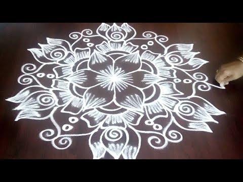 Simple &  Easy Chukkala Muggulu 3 x 2 ||  Beautiful Design With 3 x 2 Simple Dots || Fashion World