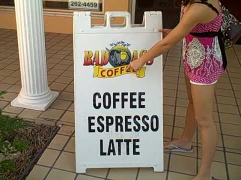 Shopping  @ Bad Ass Coffee Shop In Naples, Florida