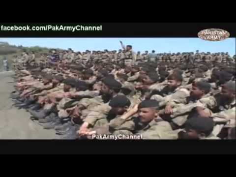 Operation Zarb-e-azb Pakistan Army Song video