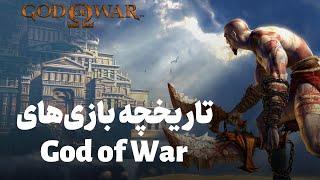 تاریخچه ویدیویی مجموعه بازی God of War