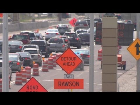 Full closure of I-94 causes traffic nightmare for drivers