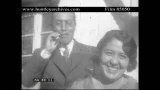 Bolivia in 1929.  Archive film 85050