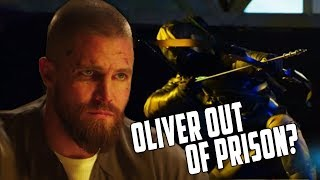 "Oliver gets out of Prison? Green Arrow Vs The Dragon! Arrow 7x06 Trailer Breakdown - ""Due Process"""