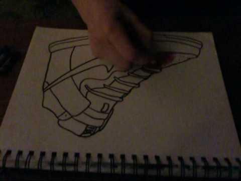 Nike Dunks- Drawing