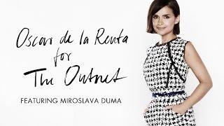 Behind the Scenes with Miroslava Duma   Oscar de la Renta