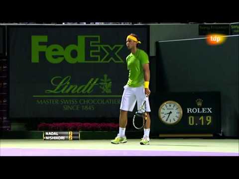 Rafa Nadal vs Kei Nishikori (ATP Masters 1000 Miami 2011) 3/13