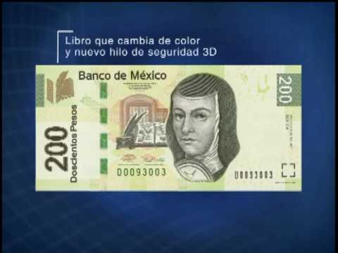 Billetes de Doscientos Pesos Billete de 200 Pesos Tipo f