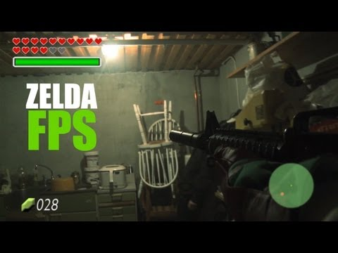 The Legend of Zelda, un FPS en la vida real