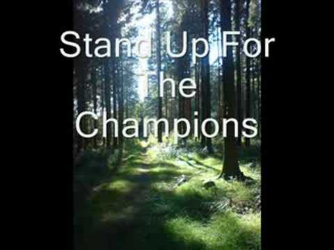 Stand Up For The Champions video