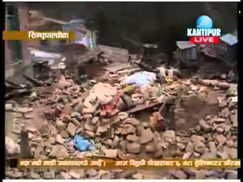 Earthquake Nepal 2015 News From Sankhu Kathmandu Sindhupal chowk Day 4