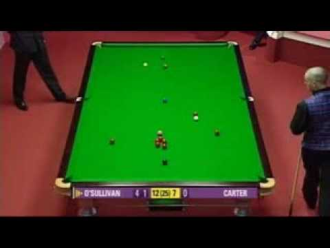 Ronnie O Sullivan Left Handed Century (unbelievable and incredible player)
