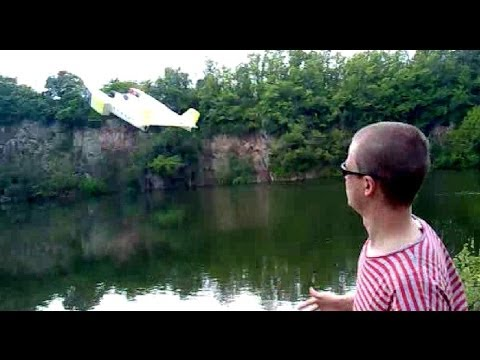 RC Hydro Foam flying boat