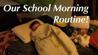 Our 1st Day Of School Morning Routine!