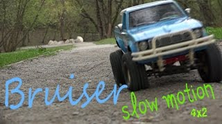 Tamiya Bruiser Slow motion part  l