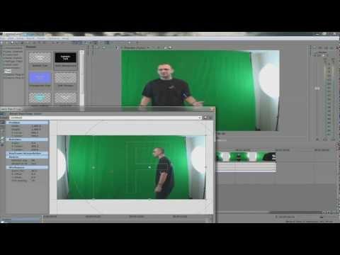 Sony Vegas Green Screen Tutorial - Chromakey