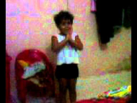 My Sweet Daugher Vaidehi Singing Nursery Poems