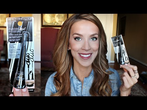 First Impression Review + Demo: Maybelline Eye Studio Master Duo 2-in-1 Glossy Liquid Liner
