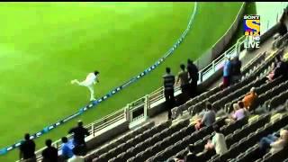 Ravindra Jadeja Stunning Catch - India vs New Zealand 2014 1st Test Highlights NZ VS IND