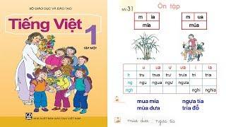 dạy bé học bảng chữ cái tiếng việt lớp 1| day be hoc bang chu cai tieng viet lop 1| Tập 1 Bài 31