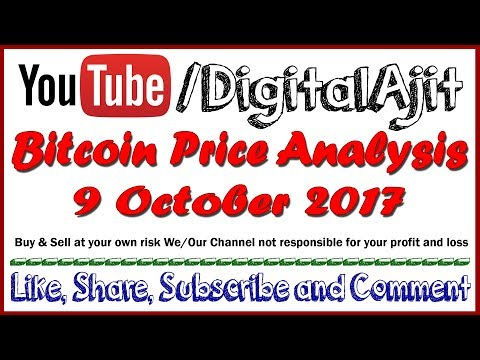 Bitcoin price analysis 9 october 2017
