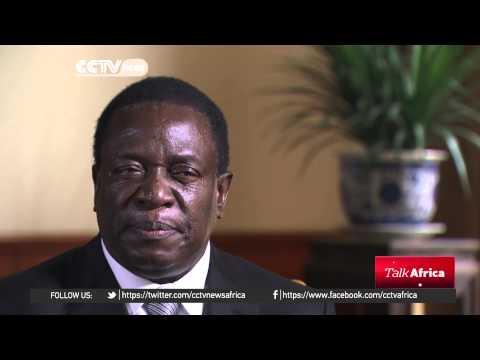 TALK AFRICA: Zimbabwe's Vice president interview