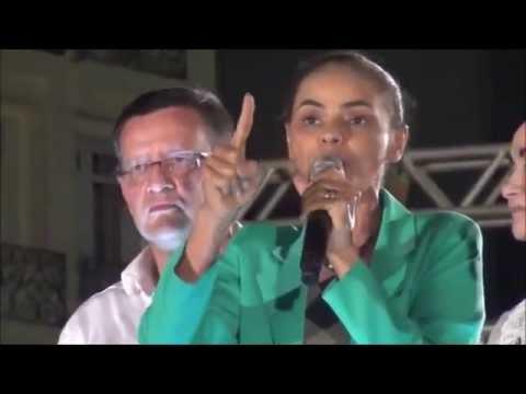 Marina Silva emocionada fala de sua origem humilde e a permanêcia do Bolsa Família