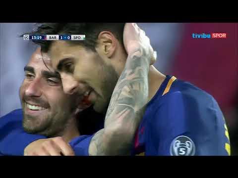 Barcelona 2-0 Sporting | UEFA Şampiyonlar Ligi Maç Özeti