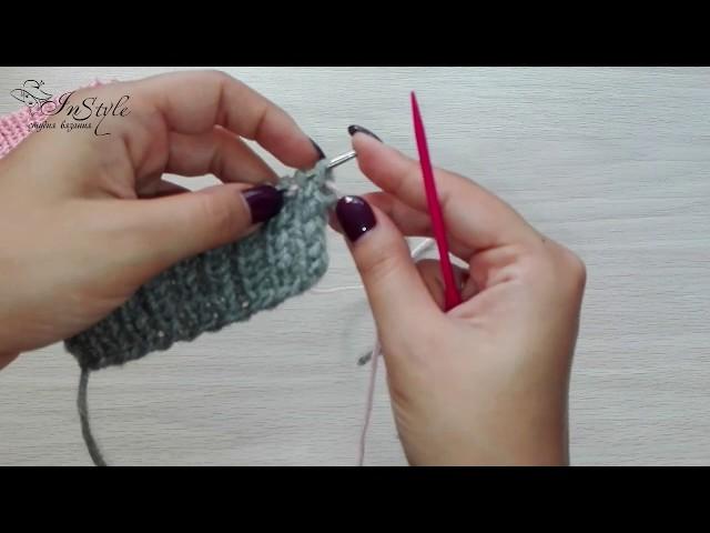 Закрытие петель с помощью иглы. 3 способа. Итальянский способ. Вязание спицами (bind off knitting)