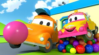 бBebц Tom y la Goma de Mascar! - El lavado de Autos de Tom La Grцa П Dibujos animados educativos