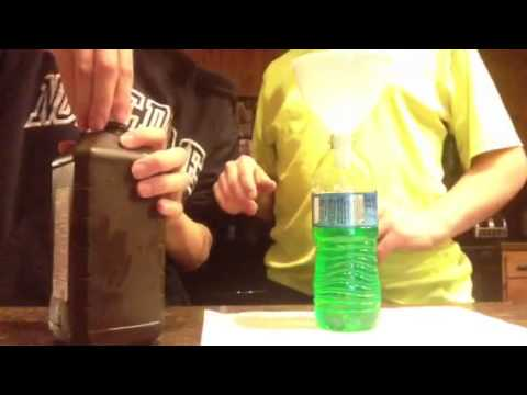 How to make Glowing Water WITHOUT BLACKLIGHT