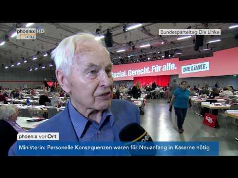 Bundesparteitag Die Linke: Hans Modrow im Interview am 10.06.2017