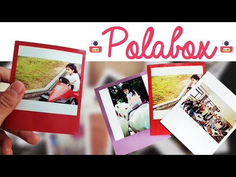 Revue: Test de l'application Polabox (tirage photo).  +CODE PROMO