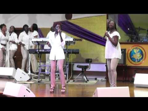 S.J.P.C Worshipers at A Garment of praise (part 1) ANTIGUA