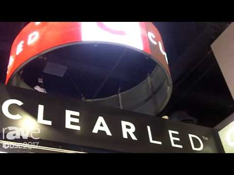 DSE 2017: ClearLED Talks About Transparent Video Wall Solution